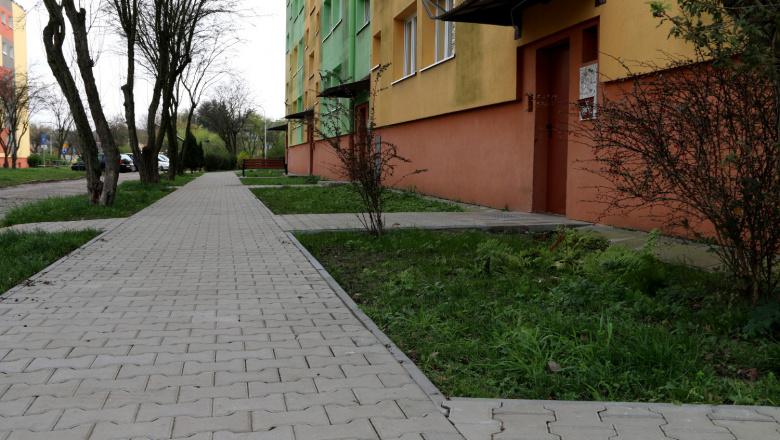 chodnik ul Harcerska